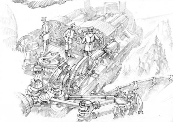 графический аэростимпанк 2 (Фото 3)