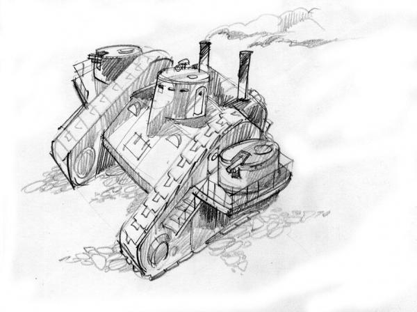 графический милитари стимпанк (Фото 3)