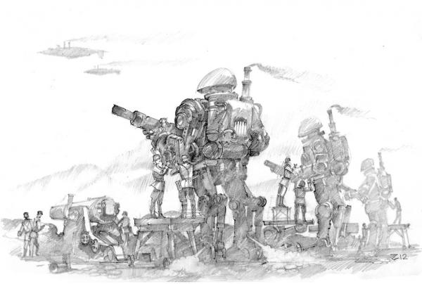 графический милитари стимпанк (Фото 5)