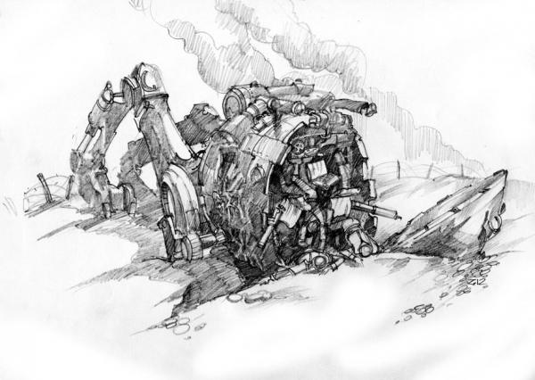 графический милитари стимпанк 2 (Фото 6)