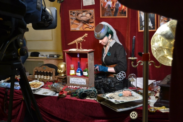 Стенд Steampunk на конвенте Эврикон 2013 - официальный отчет (Фото 3)