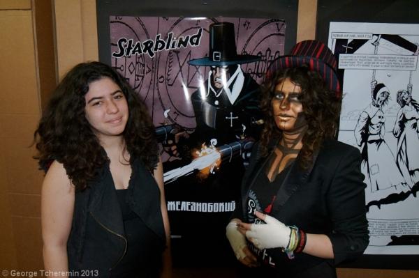 Стенд Steampunk на фестивале рисованных историй КомМиссия (Фото 19)