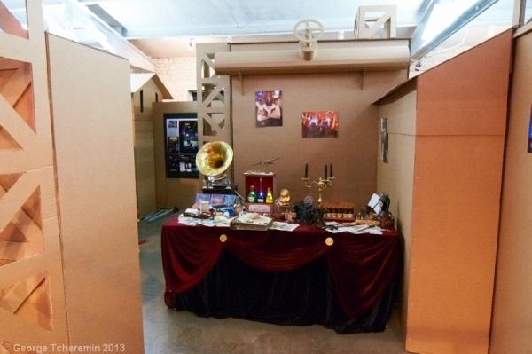 Стенд Steampunk на фестивале рисованных историй КомМиссия (Фото 6)