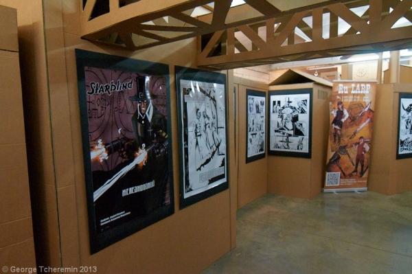 Стенд Steampunk на фестивале рисованных историй КомМиссия (Фото 4)