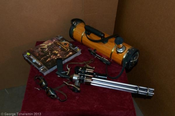 Стенд Steampunk на фестивале рисованных историй КомМиссия (Фото 16)