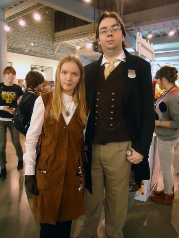 Стенд Steampunk на фестивале рисованных историй КомМиссия (Фото 21)