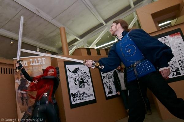 Стенд Steampunk на фестивале рисованных историй КомМиссия (Фото 8)