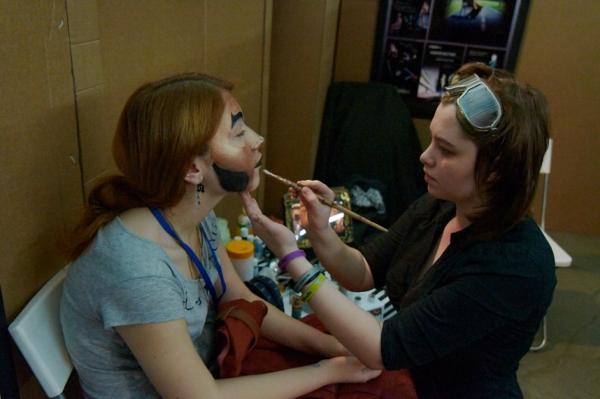 Стенд Steampunk на фестивале рисованных историй КомМиссия (Фото 10)