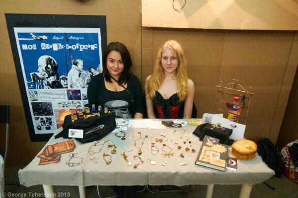 Стенд Steampunk на фестивале рисованных историй КомМиссия (Фото 15)