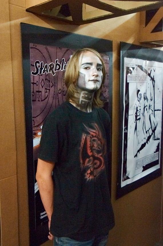 Стенд Steampunk на фестивале рисованных историй КомМиссия (Фото 11)