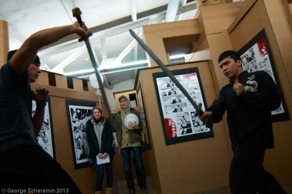 Стенд Steampunk на фестивале рисованных историй КомМиссия (Фото 9)