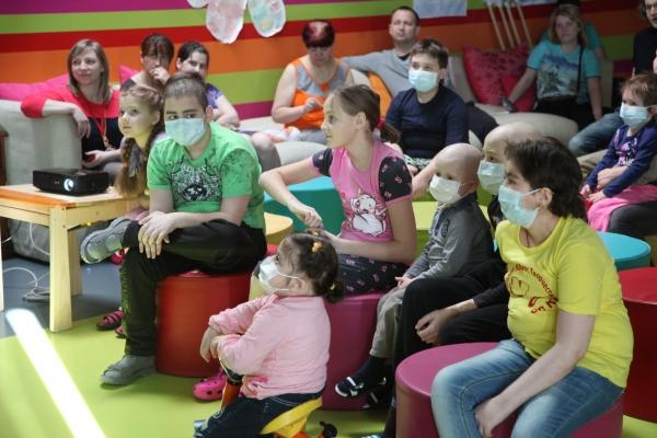Творческая акция в  Федеральном научно-клиническом центре детской гематологии, онкологии и иммунологии им. Д.Рогачёва