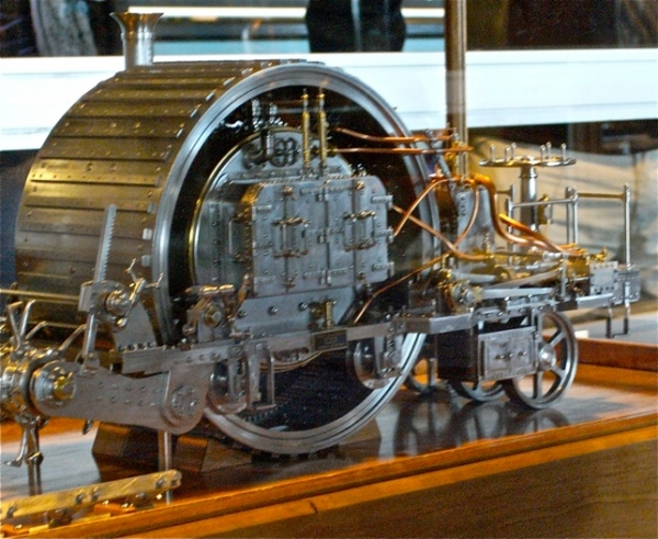 1863 Blackburn Agricultural Engine. (Фото 7)