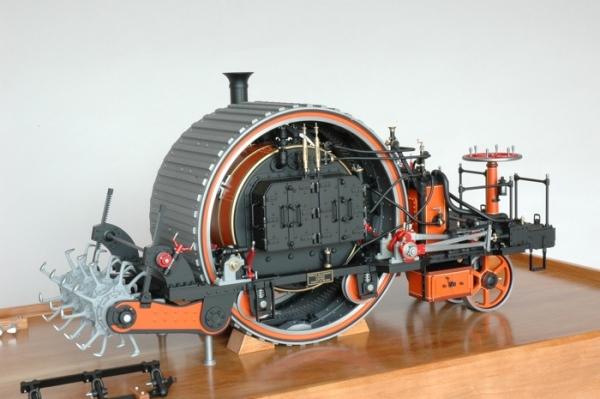 1863 Blackburn Agricultural Engine. (Фото 2)