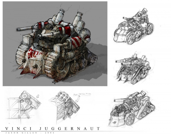 Rise of Nations: Rise of Legends (Vinci) Concept Arts (Фото 5)