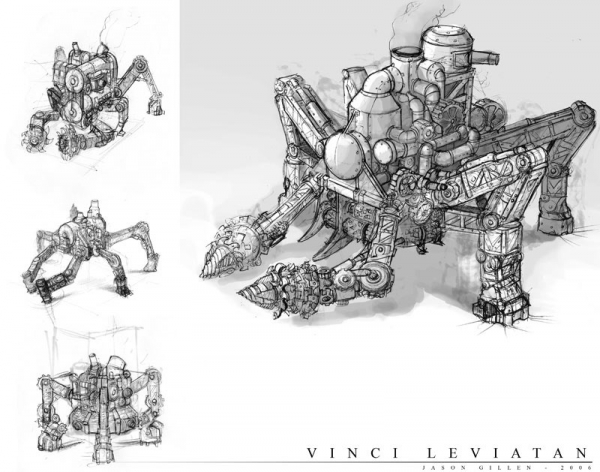 Rise of Nations: Rise of Legends (Vinci) Concept Arts (Фото 6)