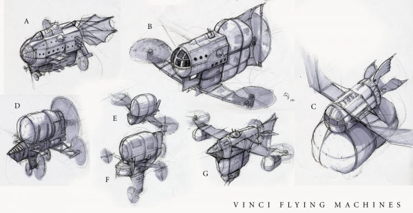 Rise of Nations: Rise of Legends (Vinci) Concept Arts (Фото 9)