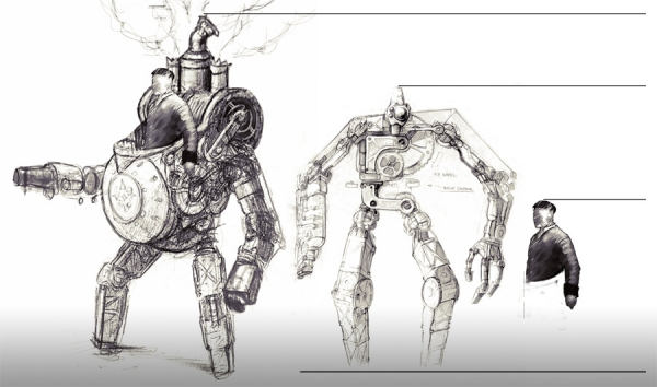Rise of Nations: Rise of Legends (Vinci) Concept Arts (Фото 2)