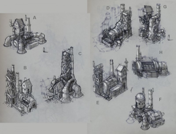 Rise of Nations: Rise of Legends (Vinci) Concept Arts (Фото 16)