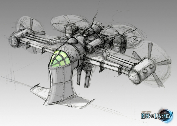 Rise of Nations: Rise of Legends (Vinci) Concept Arts (Фото 12)