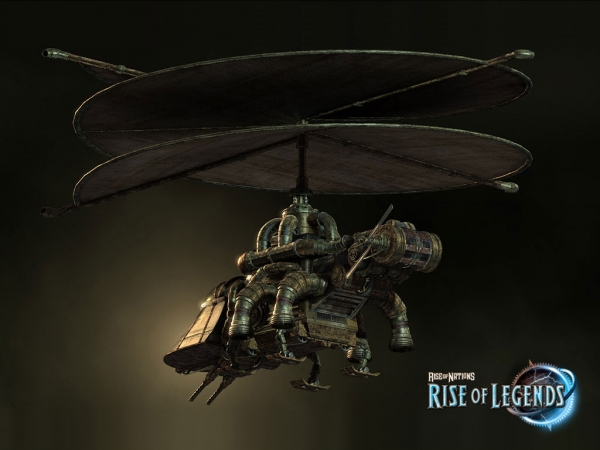 Rise of Nations: Rise of Legends (Vinci) Concept Arts (Фото 11)