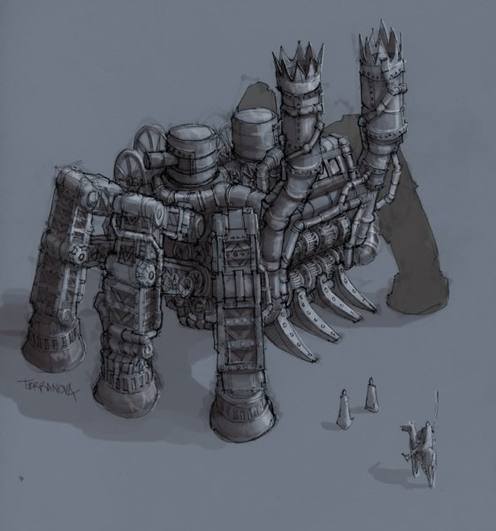 Rise of Nations: Rise of Legends (Vinci) Concept Arts (Фото 8)