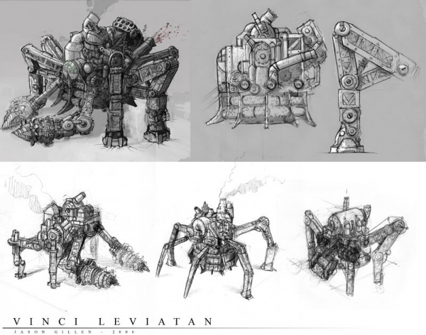 Rise of Nations: Rise of Legends (Vinci) Concept Arts (Фото 7)