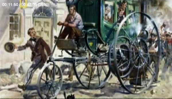 Паровая карета Тревитика 1803г.