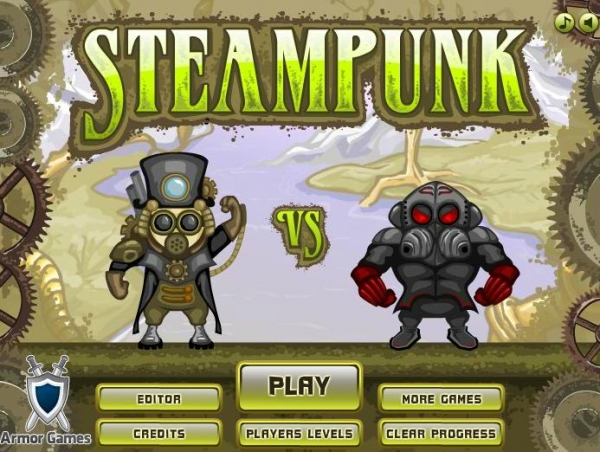Steampunk flash game