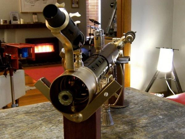 """Steampunk Sub-Machine Gun"" by Neil Morrison (Фото 4)"