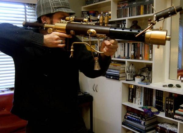 """Steampunk Sub-Machine Gun"" by Neil Morrison (Фото 5)"