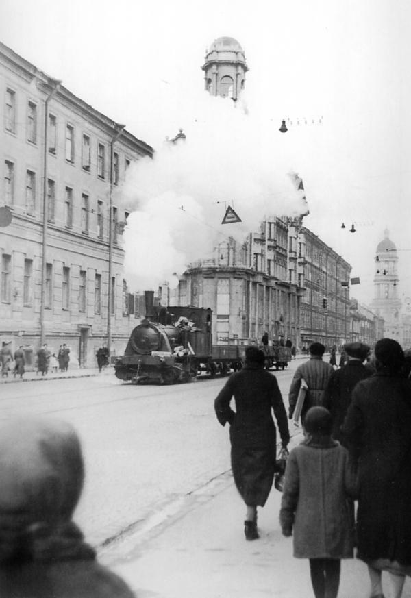 старая фотография . Ленинград.