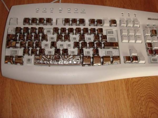 Стальная клавиатура. Памятник человеческой глупости. (Фото 18)