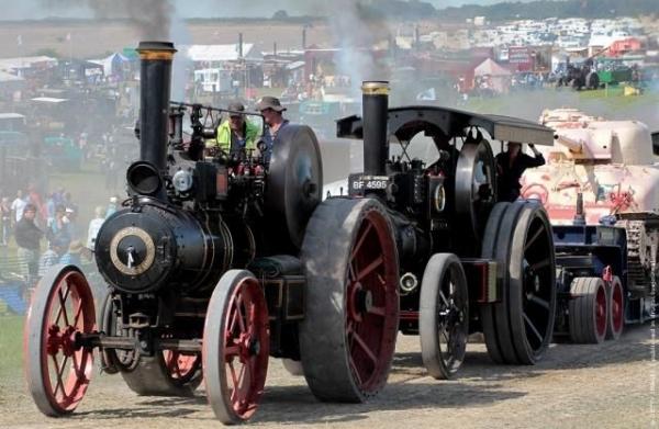 Выставка паровых машин – Great Dorset Steam Fair (Фото 22)