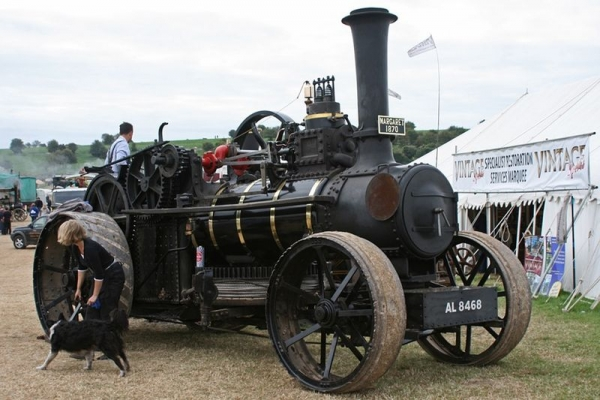 Выставка паровых машин – Great Dorset Steam Fair (Фото 11)