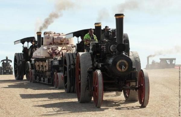 Выставка паровых машин – Great Dorset Steam Fair (Фото 17)