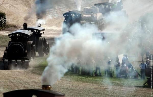 Выставка паровых машин – Great Dorset Steam Fair (Фото 19)