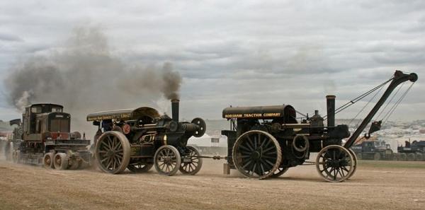 Выставка паровых машин – Great Dorset Steam Fair (Фото 4)