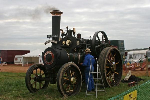 Выставка паровых машин – Great Dorset Steam Fair (Фото 13)