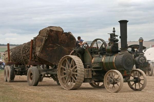 Выставка паровых машин – Great Dorset Steam Fair (Фото 8)