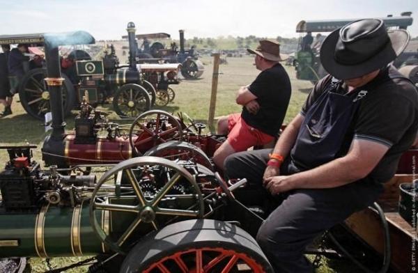 Выставка паровых машин – Great Dorset Steam Fair (Фото 18)
