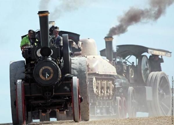 Выставка паровых машин – Great Dorset Steam Fair (Фото 21)