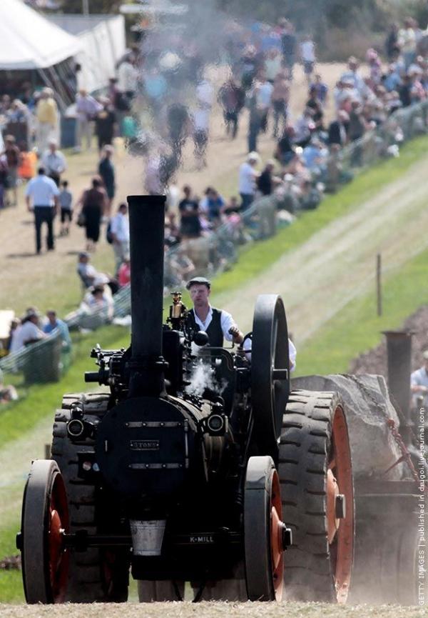 Выставка паровых машин – Great Dorset Steam Fair (Фото 16)