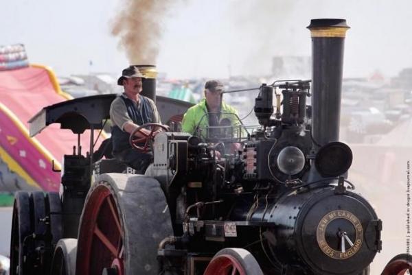 Выставка паровых машин – Great Dorset Steam Fair (Фото 14)