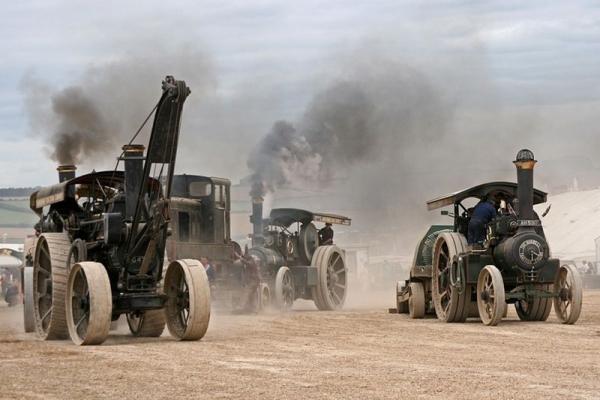 Выставка паровых машин – Great Dorset Steam Fair (Фото 3)