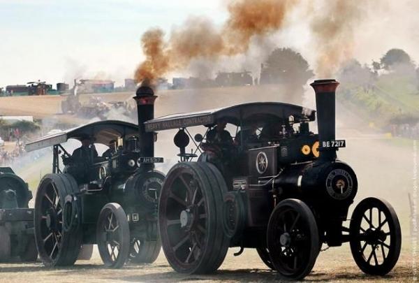 Выставка паровых машин – Great Dorset Steam Fair (Фото 23)