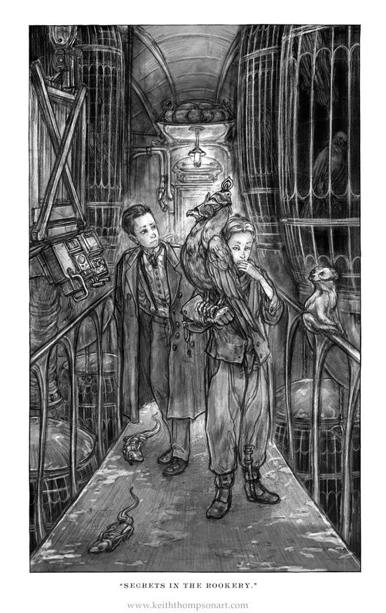 """Кeith Тhompson - рисунки в стиле """"стим"""""""". (Фото 58)"""
