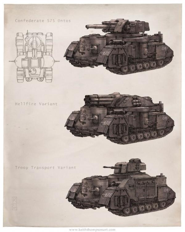 """Кeith Тhompson - рисунки в стиле """"стим"""""""". (Фото 69)"""