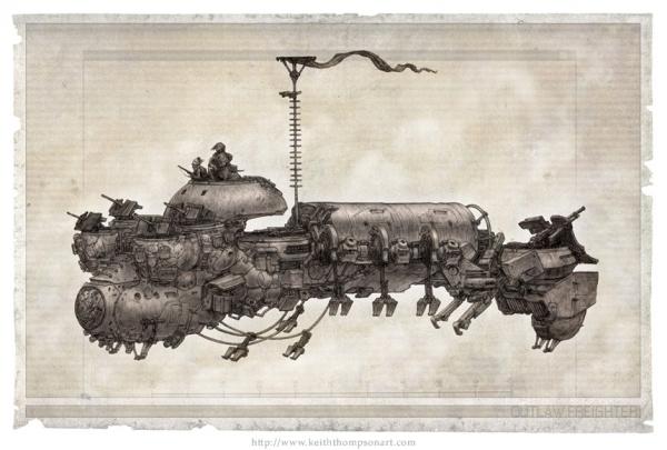 """Кeith Тhompson - рисунки в стиле """"стим"""""""". (Фото 71)"""