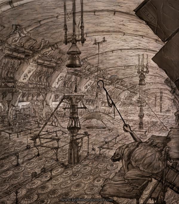 """Кeith Тhompson - рисунки в стиле """"стим"""""""". (Фото 59)"""